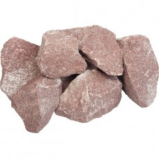 Малиновый кварцит 20 кг для бани и сауны