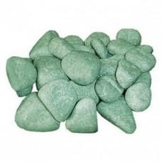 Камень жадеит шлифованный мелкий 10 кг для электрокаменки
