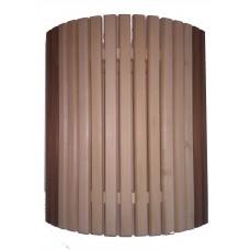 Ограждение светильника угловое с термовставкой для бани и сауны