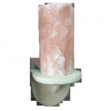 Светильник солевой Цилиндр прямой для бани и сауны