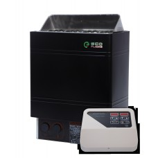 Електрокам'янка для сауни та лазні EcoFlame AMC 60-D 6 кВт + пульт CON4