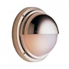 Влагозащищенный светильник для хамама Foresti Ø240/120 полированная латунь